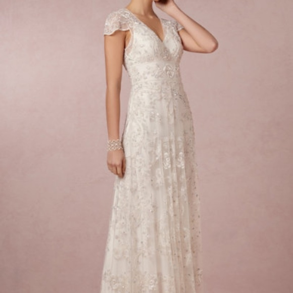 Anthropologie Dresses & Skirts - Ranna Gill Mira Gown Wedding Dress Anthropologie -